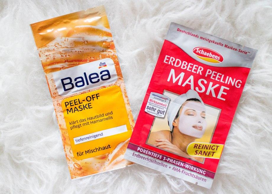 Schabens und Balea Gesichtmasken