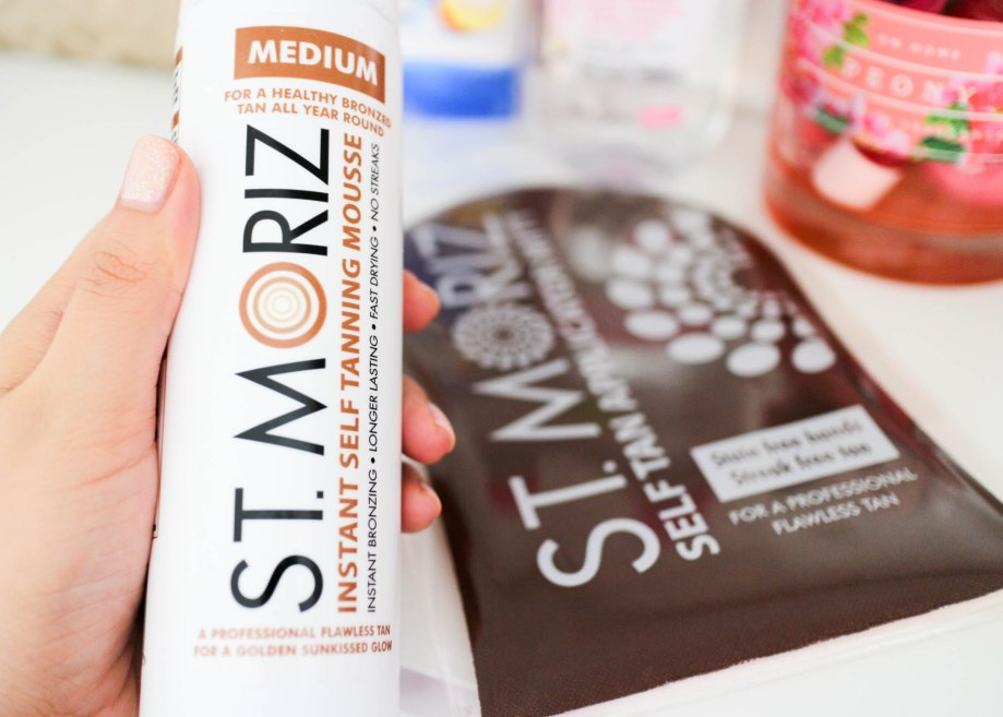 St Moriz Self Tanner in Medium