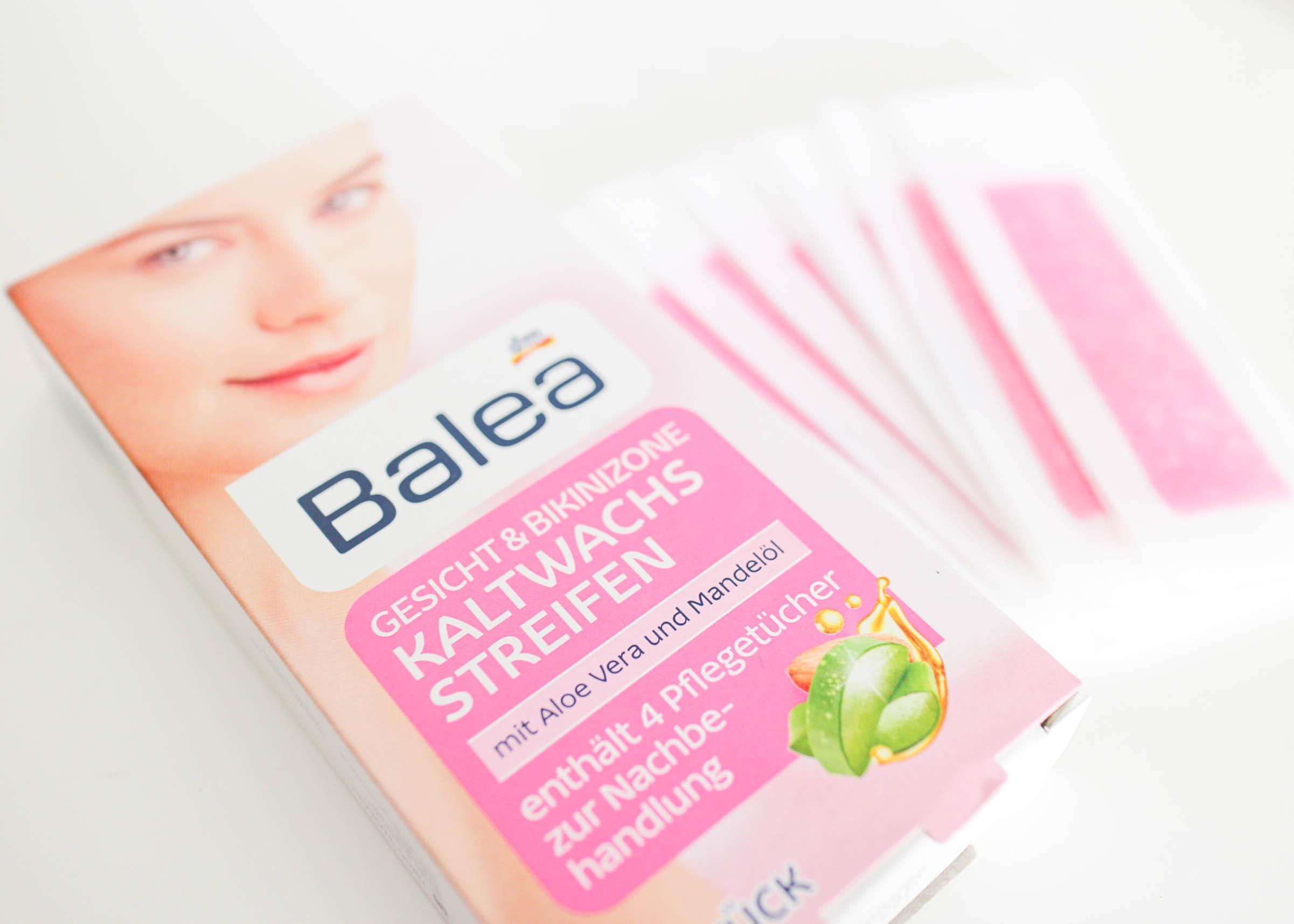 Review Balea Kaltwachs Streifen Moscato Mascara