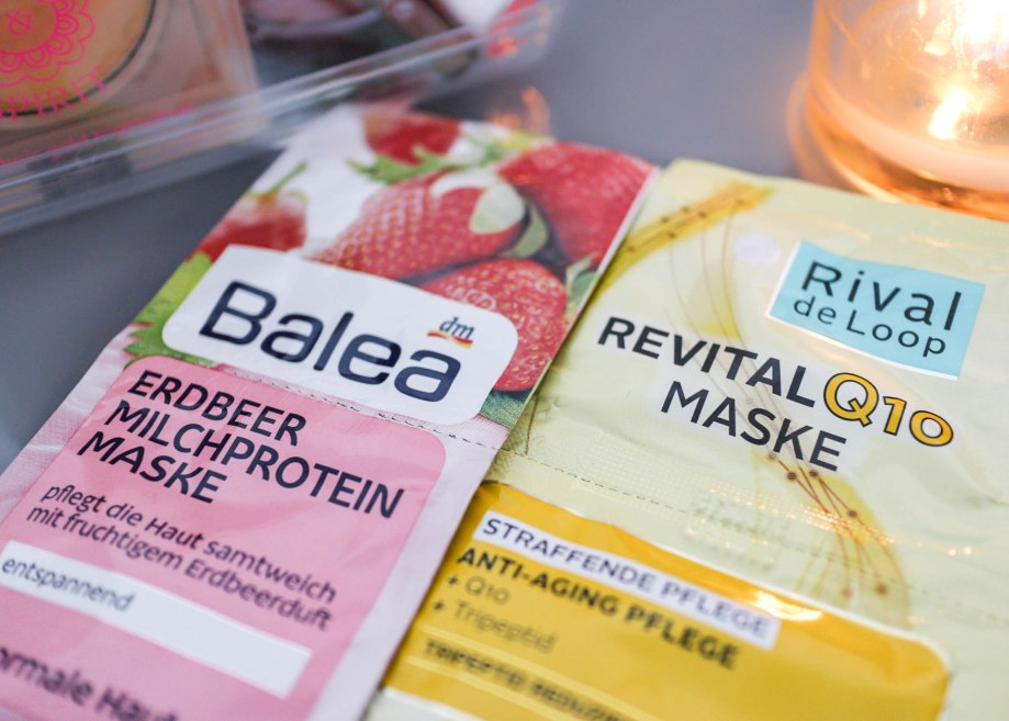 Balea und Rival de Loop gesichtmaske
