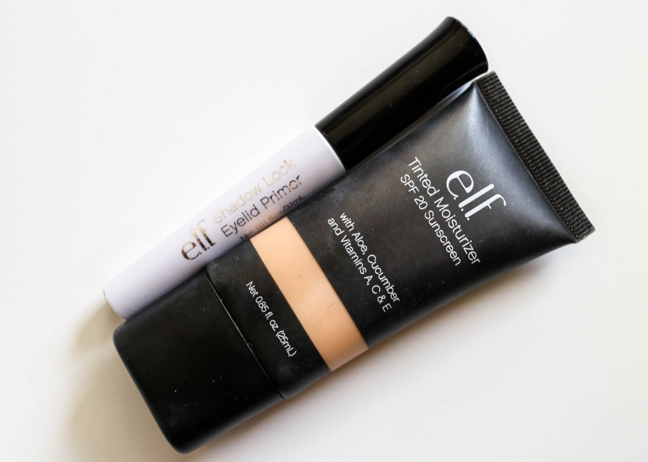 ELF primer and tinted moisturizer