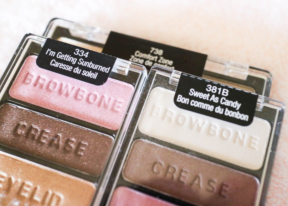 Wet N Wild Color Icon eyeshadows