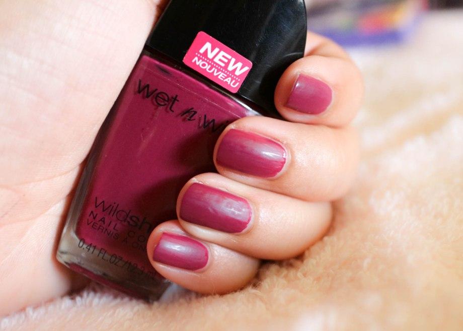 Wet n Wild nail polish Grape Minds Think Alike