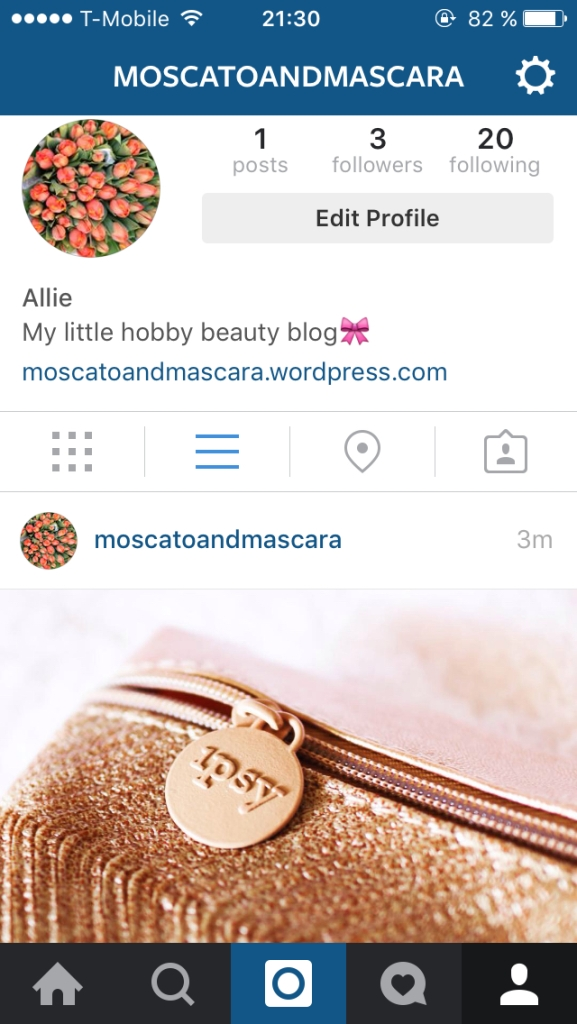 MoscatoAndMascara Instagram