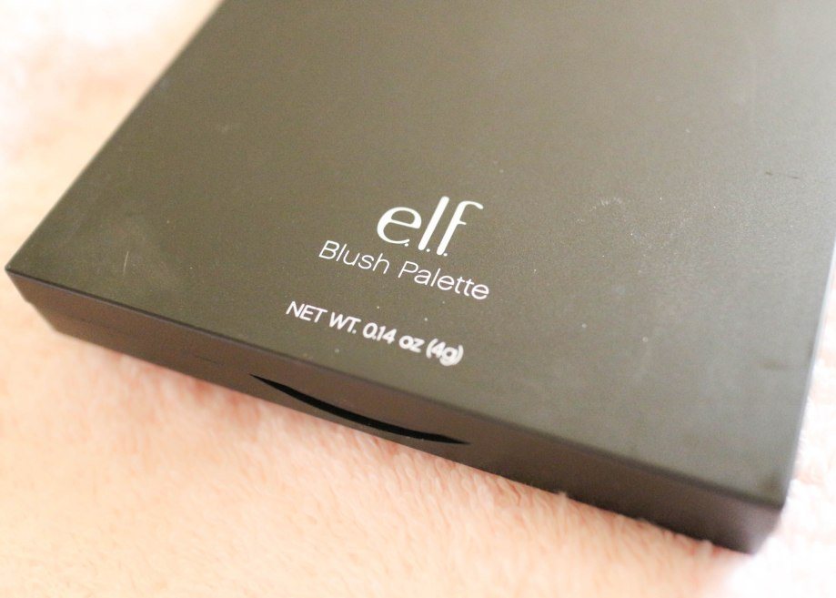 E.L.F. Blush Palette in Dark