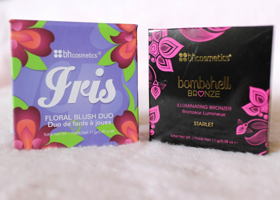 BH Cosmetics Floral Blush Duo Iris Bombshell Bronze Starlet
