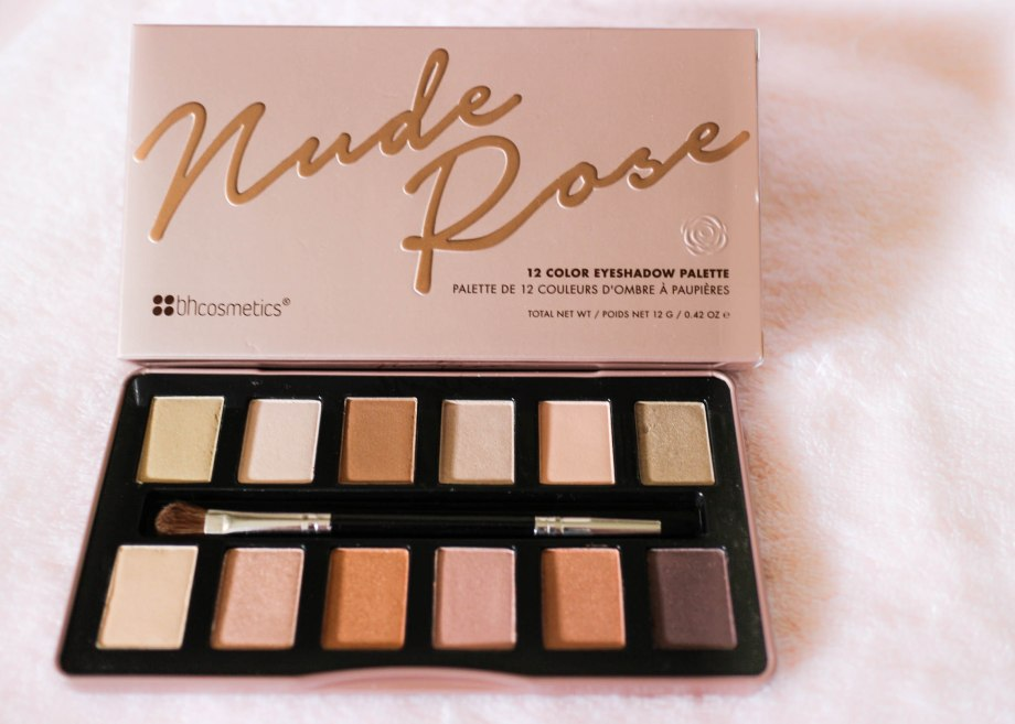 BH Cosmetics Nude Rose Palette