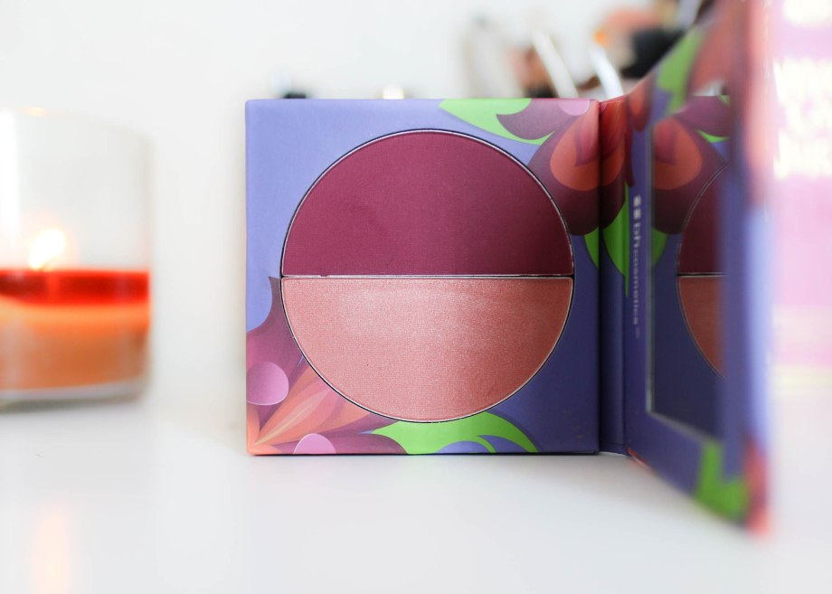 BH Cosmetics Floral Blush Duo Iris