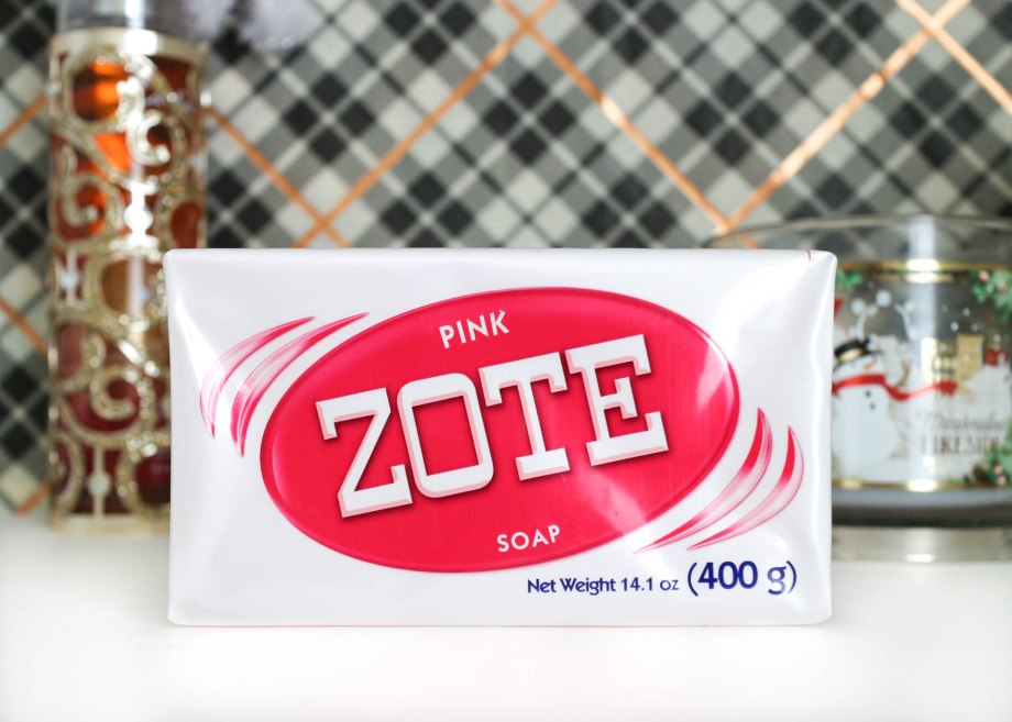 ZOTE soap to clean makeup brushes