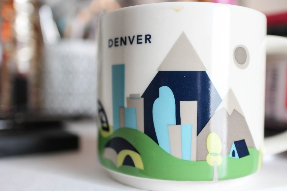 Starbucks You Are Here Denver