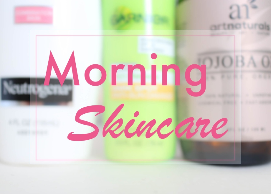 morning skincare header