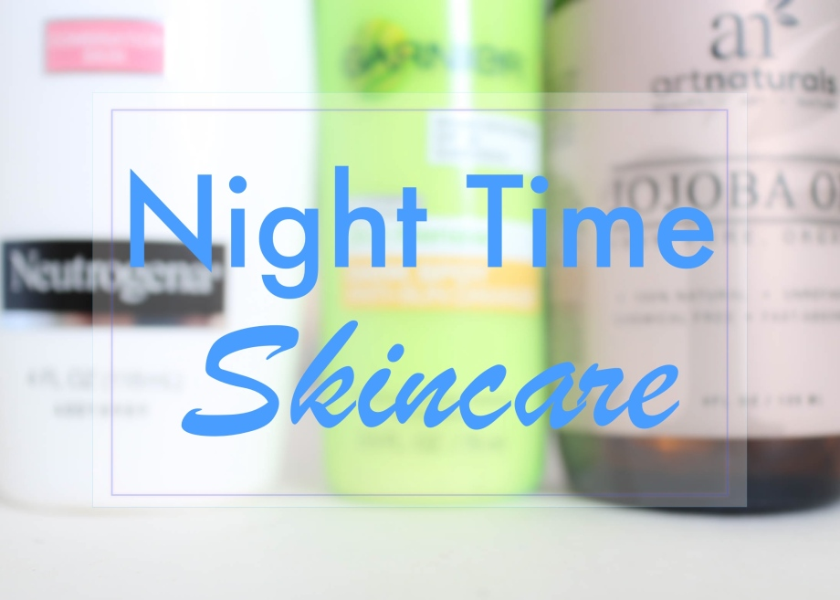 Night Time Skincare header