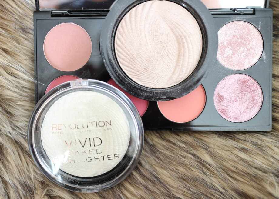 Makeup Revolution Vivid baked highlightes