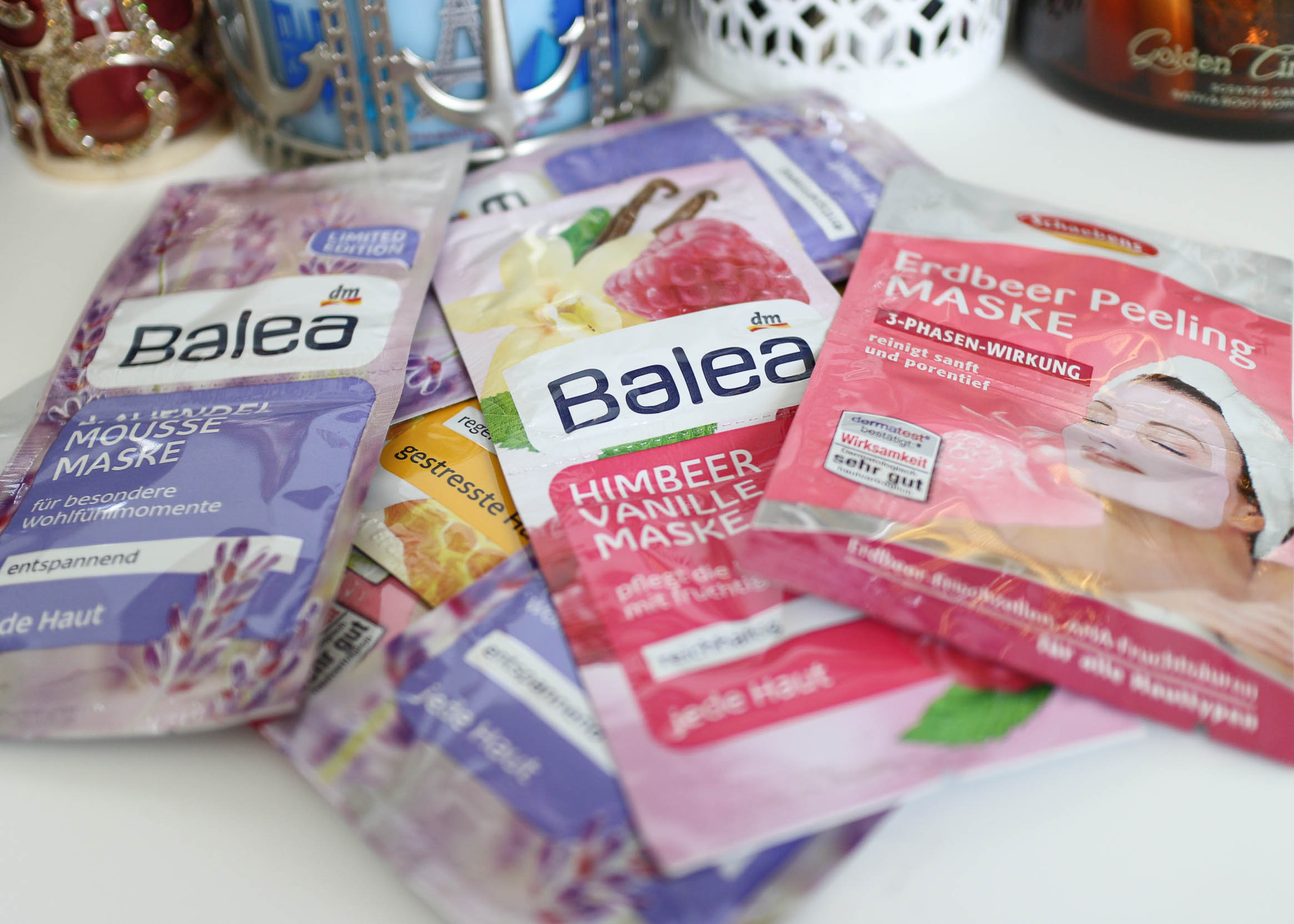 f721a467eba A haul from DM, the German drugstore, would not be complete without some  face masks! Ranging from €0.45-0.55, I picked up more than a few Schaebens  and ...