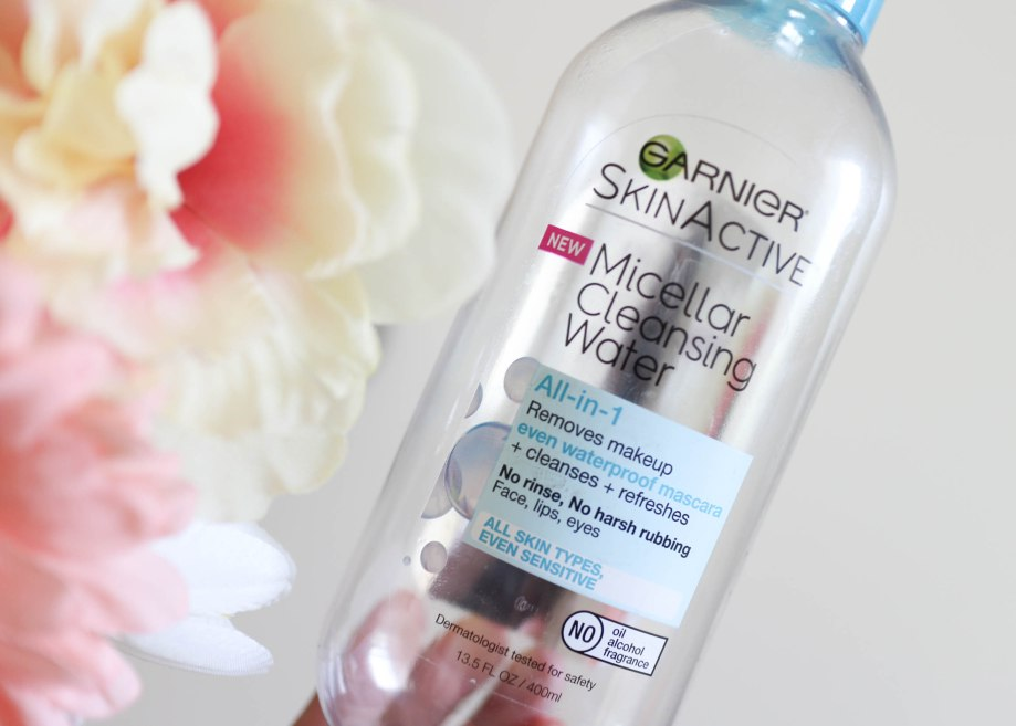 garnier waterproof micellar water